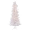 This item: Crystal White Slim Pine 6.5 Foot x 38-Inch Christmas Tree with 400 Clear Dura Light