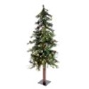 This item: Mixed Country Green Alpine 7 Foot x 44-Inch Christmas Tree with 250 Warm White LED Lights