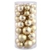 This item: Gold Shiny and Matte Ball Ornaments, 50 per Box