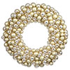 This item: Gold 36-Inch Ball Wreath
