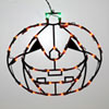 This item: Orange LED Pumpkin Window Decor