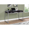 This item: Cappucino and Silver 22-Inch Computer Desk with Two Drawers