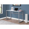 This item: Silver and White 22-Inch Computer Desk
