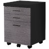 This item: Black and Gray 18-Inch Filing Cabinet