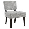 This item: Abbott Light Gray 32-Inch Armless Chair