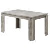 This item: Gray Reclaimed Wood 36 x 60 Inch Rectangular Dining Table