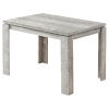 This item: Gray Reclaimed Wood 32 x 48 Inch Rectangular Dining Table