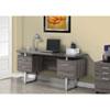This item: Dark Taupe 60-Inch Office Desk
