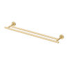 This item: Latitude II Brushed Brass 24-Inch Double Towel Bar
