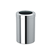 This item: Round Modern Bathroom, Kitchen, Office, Waste and Trash Can Bin Chrome