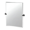 This item: Elevate 31.5-Inch Frameless Rectangle Mirror Matte Black
