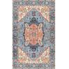 This item: Vintage Minah Blue Rectangular: 5 Ft. x 8 Ft. Rug