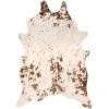 This item: Iraida Faux Cowhide Brown Shaped: 5 Ft. x 6 Ft. 7 In. Rug