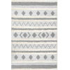 This item: Tribal Lora Off White Rectangular: 5 Ft. 3 In. x 7 Ft. 7 In. Rug