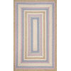 This item: Braided Shay Blue Multicolor Runner: 2 Ft. 6 In. x 8 Ft.