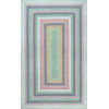 This item: Braided Shay Pink Multicolor Rectangular: 3 Ft. x 5 Ft. Rug