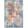 This item: Zenia Floral Blue Rectangular: 6 Ft. 7 In. x 9 Ft. 4 In. Rug