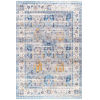 This item: Janel Floral Gray Rectangular: 3 Ft. x 5 Ft. Rug
