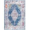 This item: Vintage Danielle Medallion Blue Rectangular: 5 Ft. 3 In. x 7 Ft. 7 In. Rug