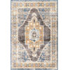 This item: Stacey Medallion Blue Rectangular: 6 Ft. 7 In. x 9 Ft. Rug