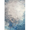 This item: Donya Abstract Blue Rectangular: 9 Ft. x 12 Ft. Rug