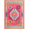 This item: Bohemian Christie Pink Rectangular: 6 Ft. 7 In. x 9 Ft. Rug