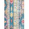 This item: Bohemian Jennifer Blue Rectangular: 5 Ft. x 8 Ft. Rug