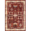 This item: Tribal Edith Red Rectangular: 6 Ft. 7 In. x 9 Ft. Rug