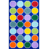This item: Kecia Octagons Blue Rectangular: 4 Ft. 4 In. x 6 Ft. Rug