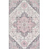 This item: Dewitt Floral Pink Rectangular: 7 Ft. 6 In. x 9 Ft. 6 In. Rug