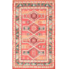This item: Tribal Shelley Peach Rectangular: 7 Ft. 6 In. x 9 Ft. 6 In. Rug