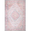 This item: Medallion Patsy Pink Rectangular: 7 Ft. 6 In. x 9 Ft. 10 In. Rug