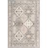 This item: Vintage Tile Becca Gray Rectangular: 6 Ft. 7 In. x 9 Ft. Rug