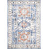 This item: Vintage Rebecca Floral Dark Blue Rectangular: 6 Ft. 7 In. x 9 Ft. Rug