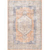 This item: Vintage Jacquie Floral Orange Rectangular: 6 Ft. 7 In. x 9 Ft. Rug