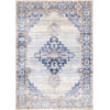 This item: Vintage Johnnie Medallion Blue Rectangular: 5 Ft. x 7 Ft. 5 In. Rug