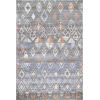 This item: Marcella Trellis Gray Rectangular: 5 Ft. x 7 Ft. 5 In. Rug