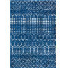 This item: Moroccan Blythe Blue Rectangular: 6 Ft. 7 In. x 9 Ft. Rug