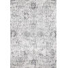 This item: Floral Damask Rosemary Gray Rectangular: 9 Ft. 10 In. x 14 Ft. Rug
