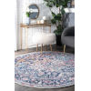 This item: Persian Vintage Raylene Blue Round: 8 Ft. Rug