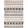This item: Tribal Mildred Gray Rectangular: 7 Ft. 6 In. x 9 Ft. 6 In. Rug