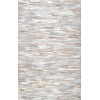 This item: Clarity Patchwork Cowhide Beige Runner: 2 Ft. 6 In. x 8 Ft.