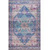 This item: Melinda Blue Rectangular: 5 Ft. x 8 Ft. Rug