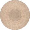 This item: Braided Draya Natural Round: 8 Ft. Rug