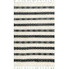 This item: Striped Delia Ivory Rectangular: 7 Ft. 6 In. x 9 Ft. 6 In. Rug