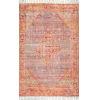 This item: Nicole Orange Rectangular: 7 Ft. 6 In. x 9 Ft. 6 In. Rug