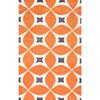 This item: Gabriela Deep Orange Rectangular: 2 Ft. x 3 Ft. Rug