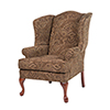 This item: Paisley Coco Wing Back Chair