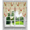 This item: Sanctuary Rose 30 x 100-Inch Lined 2-Piece Duchess Valance