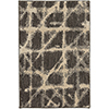 This item: Enigma Contact Linen Smokey Gray Rectangular: 2 Ft. x 3 Ft. Rug